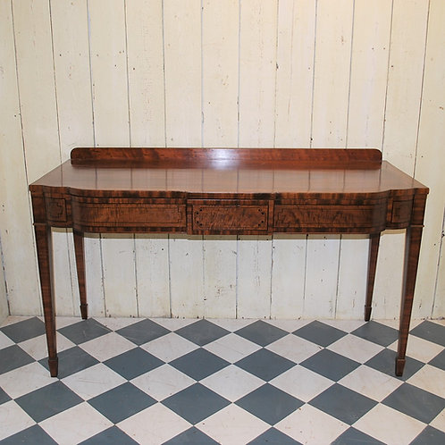Regency Mahogany Serving Table/ Console Table/ hall table