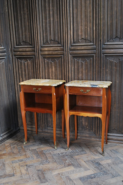 Superb Pair of French Bedside Cabinets