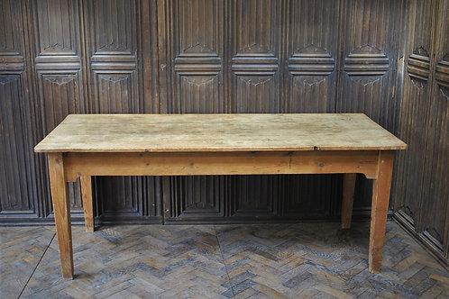 Victorian Pine Farmhouse Kitchen Table