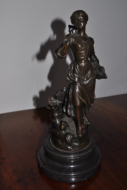 Antique French Bronze Sculpture