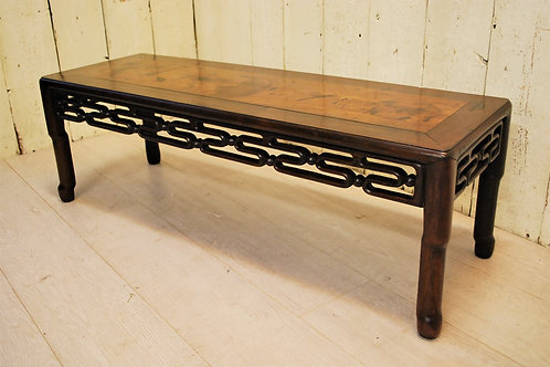 Chinese Rosewood Opium Table/ Coffee Table