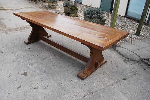 Large French Oak Farmhouse Table