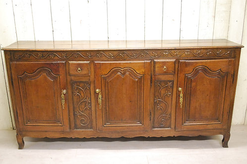 Antique French Oak Dresser / Enfilade