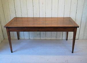 French Cherry Wood Farmhouse Table.JPG