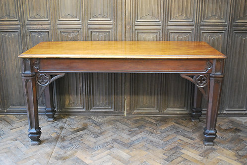 Country house Gothic serving table / console