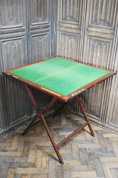 Folding Games Table by W.Thornhill London