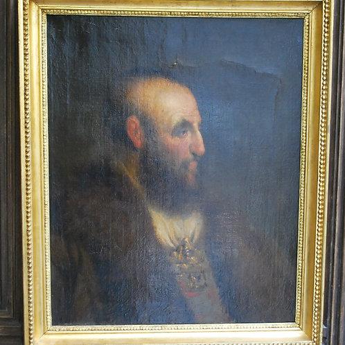 Renaissance- Style Portrait of a Gentleman