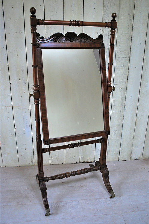 Gillows of Lancaster Cheval Dressing Mirror