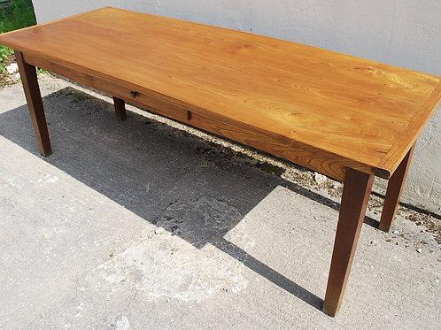 French Elm Farmhouse Table