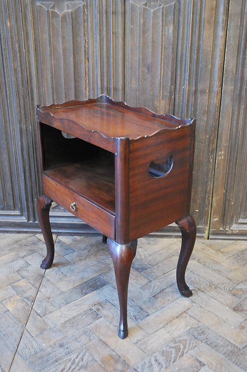 Rare Georgian bedside cabinet