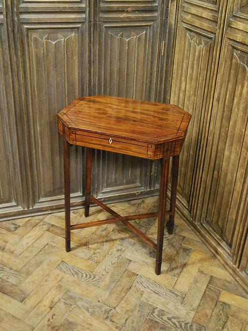 Regency mahogany  occasional table