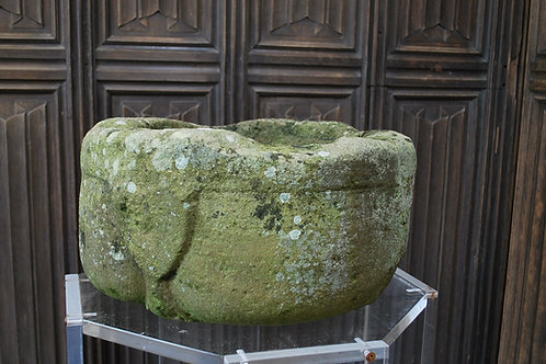 Rare Medieval stone font /stoop