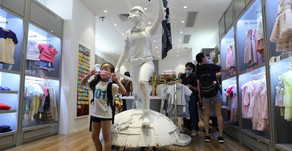 Landlords ask kids fashion store to remove protester statue