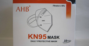Customs: A surgical mask with the origin of China contained excessive bacteria