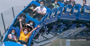 Hong Kong's Ocean Park reopens after more than four months of closure