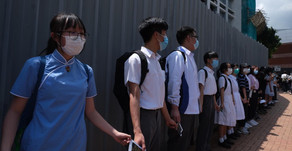 Defiant Hong Kong pupils ignore education chief's warning over national law protests