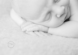Baby boy close up fingers Patricia Thom Photography