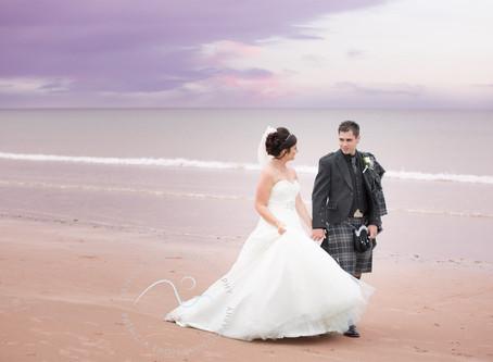 Aberdeenshire Wedding of V & D