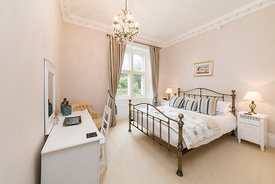 Bedroom No.2 with kingsize bed and ensuite shower room