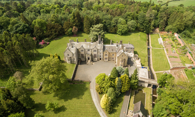 Middleton Hall Northumberland holiday country mansion