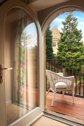Balcony from first floor bedroom