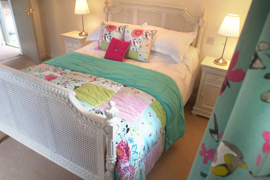 First floor double bed