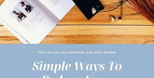 E-Book: Simple Ways To Manage Stress