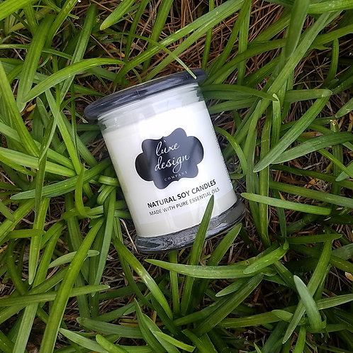 Pure Eucalyptus Essential Oil Candle