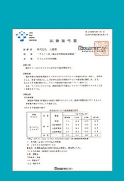 抗菌力評價測試