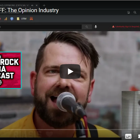 Finn McKenty @ Punk Rock MBA reviews ' OPINIONS'