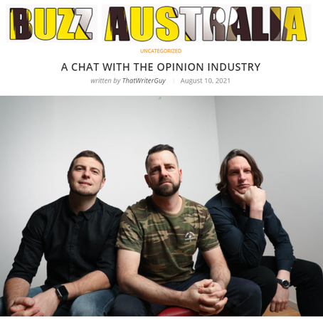 Benj Interview with Buzz Magazine