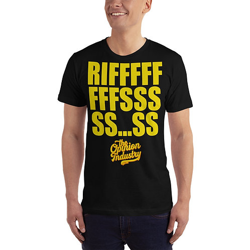 Riffs T-Shirt - The Opinion Industry