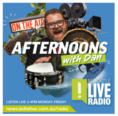 Newcastle Live radio interview with Dan Beazley link