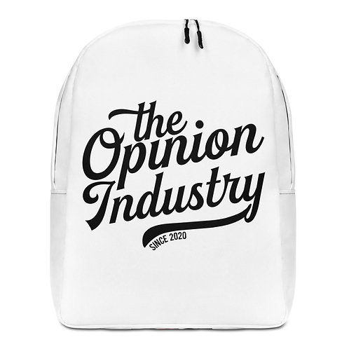 Minimalist Backpack - The Opinion Industry