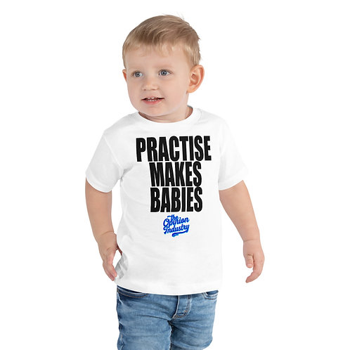 Toddler Short Sleeve Tee Blue - The Opinion Industry