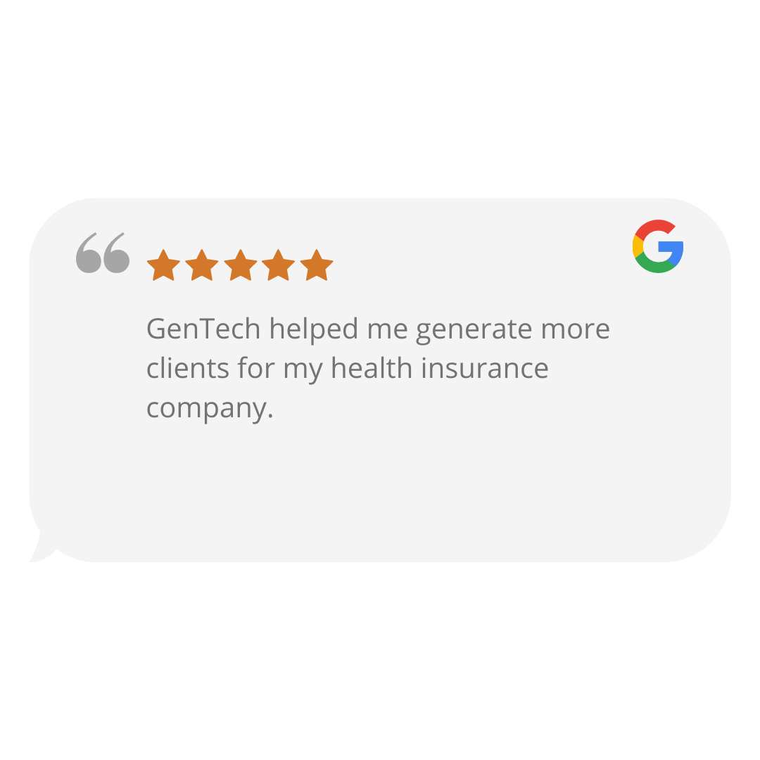 GenTech Google Review