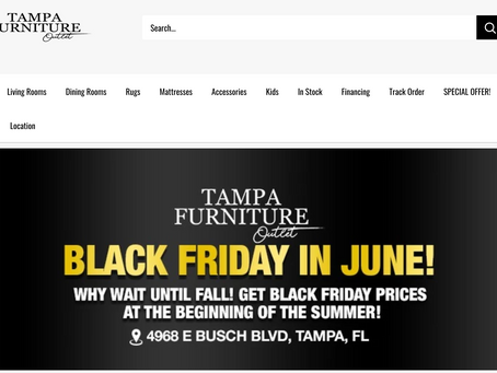 Case Study: Tampa Furniture Outlet (From $300,000 to $1.2M a month)