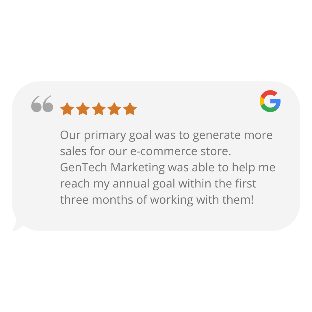 GenTech Google Review