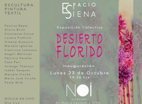 DESIERTO FLORIDO Exposición colectiva