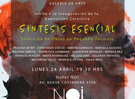 SINTESIS ESENCIAL exposición colectiva