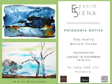 Patagonia Nativa Acuarelas y Pintura de Elby Huerta y Marcela Vicuña
