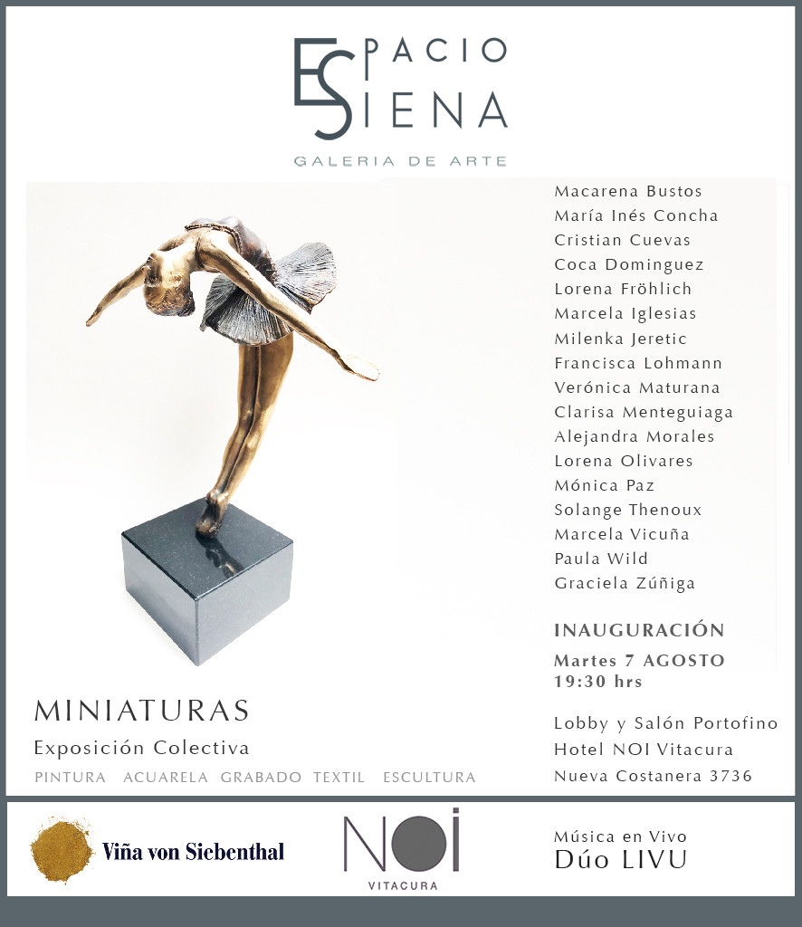 Exposición Miniaturas de Espacio Siena