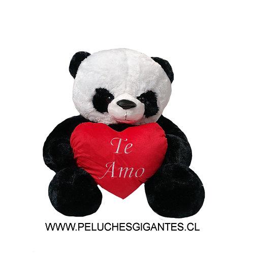 Oso Panda 1 metro + Corazón