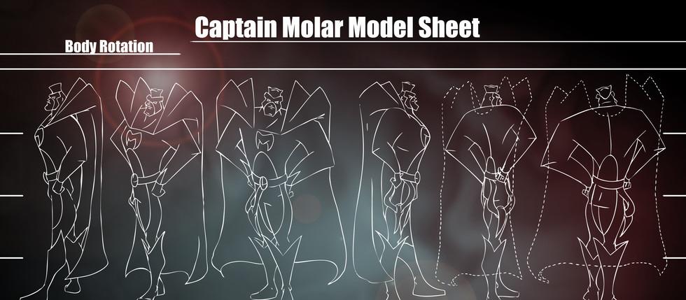Character Design Model Sheet