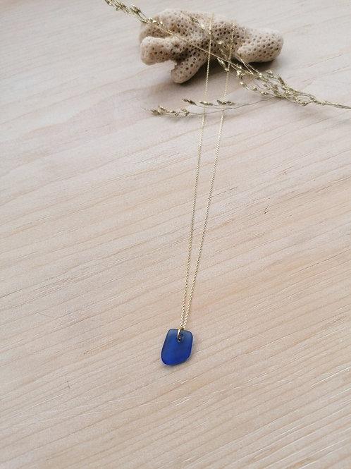 Skopelos Collection - Cobalt Simple Necklace