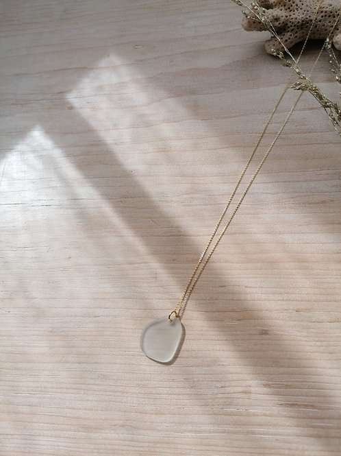 Aquitaine Collection - Large White Necklace