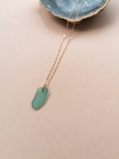 Alonnisos Collection - Teal Necklace