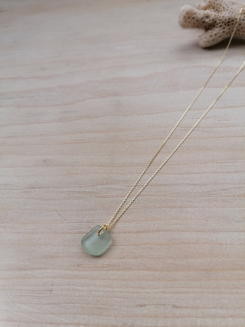 Skiathos Collection - Pale Ice Blue Necklace