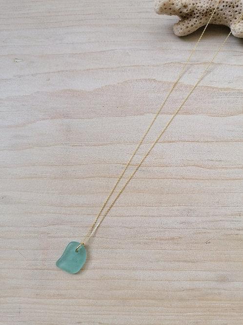 Skiathos Collection - Large Aqua Necklace