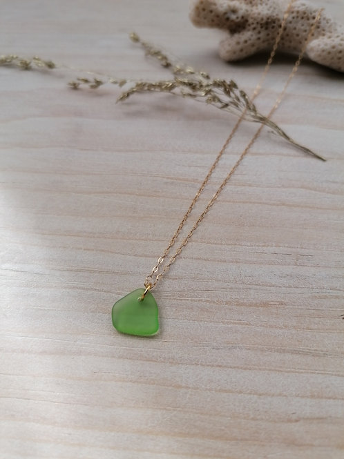 Aquitaine Collection - Small Vivid Green Necklace